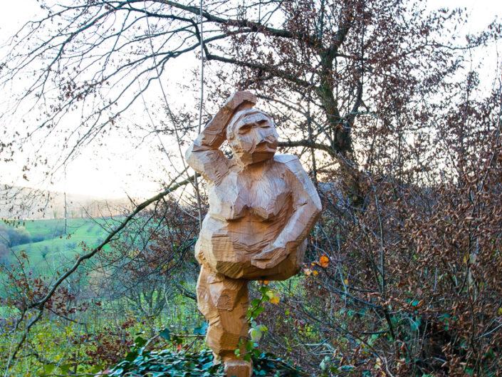 Paradiesweg - Skulpturen