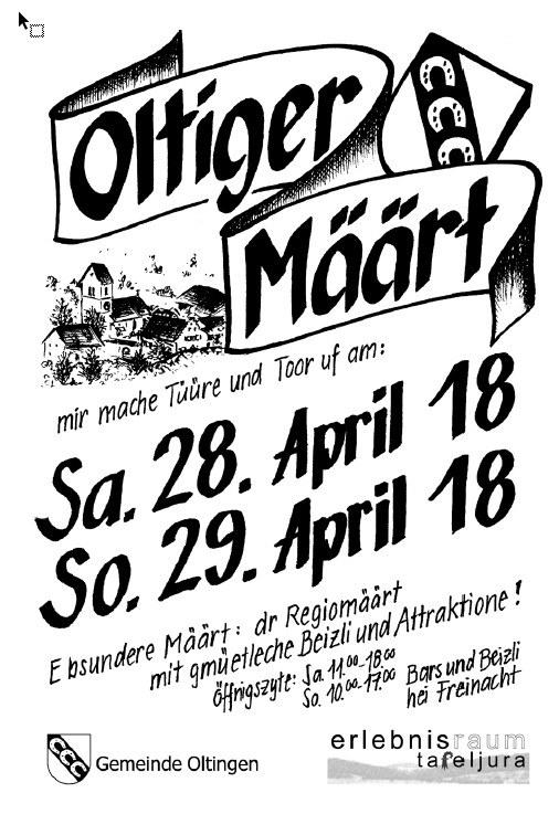 Oltiger Määrt - 28./29. April 2018